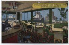 OJIBWAY HOTEL COCKTAIL LOUNGE~SAULT STE MARIE,MI~LINEN Postcard