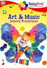 BabyFirst: Art and Music - Sensory Wonderland New Dvd Free Shipping!