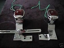 TAILLIGHT AND BRACKET set CHEVROLET TRUCK 1947 1948 1949 1950 1951 1952 1953