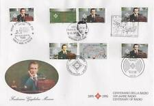 1995 Marconi - I+RSM+SCV+D+Irl - mixed FDC