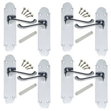 4 sets of Epsom Interior Door handles 168x42mm SALE Prices!!! Polished Chrome