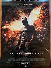 "The Dark Knight Rises movie poster (c)  : 40"" x 27""  : Batman poster"