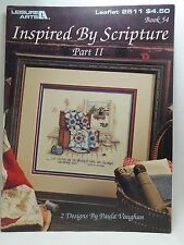 Paula Vaughan Inspired By Scripture II Cross Stitch Pattern Leaflet 2511 Book 54