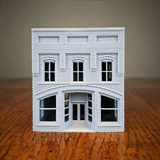 N Scale - North Carolina Arched Brick General Store - 1:160 Scale Building