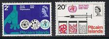 Pitcairn Islands 1968 World Health Organization MNH