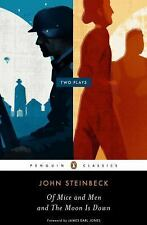 Of Mice and Men and the Moon Is Down by John Steinbeck (2010, Paperback)