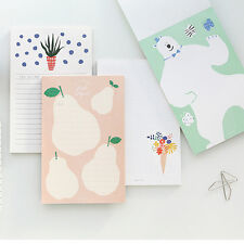 1x 50sh Cute Breezy Day Small Letter Writing Stationery Paper Pad Note Memo Book