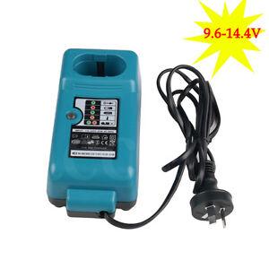 Aftermarket Battery Charger for Makita  9.6V 12V 14.4V Ni-Cd Ni-MH AU Plug 240V