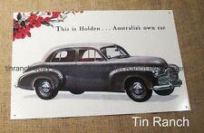 vintage FX HOLDEN TIN SIGN new ADVERT retro classic car metal picture Australian