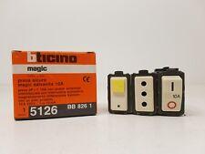 Bticino 5126 MAGIC - PRESA SICURA SALVAVITA 2P+T 10A