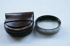 Rollei Rolleipol Circular Polarizing filter Rlll bayonet mount w/case