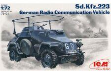 ICM 72421 1/72 German Radio Communication Vehicle Sd.Kfz. 223