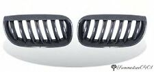 BMW E83 X3 SUV 2004-2006 Front Kidney Carbon Look Grille