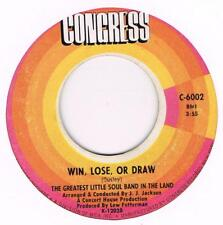 THE GREATEST LITTLE SOUL BAND IN THE LAND Win lose or draw / Something for my pe