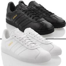 Baskets gazelles noirs adidas pour homme