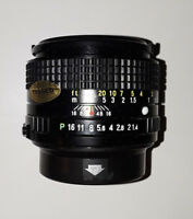 Ricoh Rikenon 50mm/f2 Interchangeable Macro Lens (BRAND NEW!)