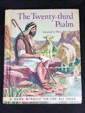 Vintage Childrens Tip Top Elf Book THE TWENTY-THIRD PSALM  Mary Alice Jones 1913