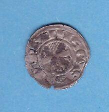 (Ref:F.102) CHAMPAGNE PROVINS DENIER HENRI 1er (1152-1180) TTB