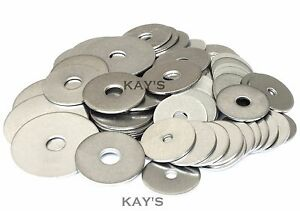 PENNY REPAIR WASHERS A2 STAINLESS STEEL FOR BOLTS AND SCREWS M4 M5 M6 M8 M10 M12