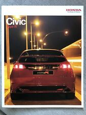 Honda Civic Type R Car Brochure - June 2006 - excellent condition
