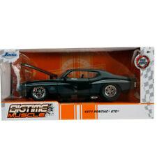 Jada 31644 Bigtime Muscle 1971 Pontiac Gto Judge 1:24 Glossy Black