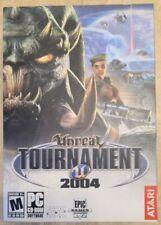 New Atari Unreal Tournament 2004 PC Video Game*