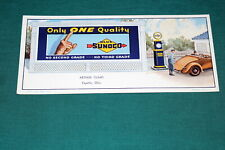 #7260,Seldom Seen Ink Blotter 1930's Mint Sunoco Oil Co Arthur Climo Fayette O