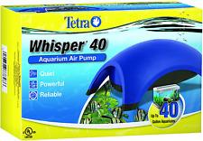 Tetra Whisper Air Pump with Minimal Noise and Maximum Air Flow 20-40 Gal.
