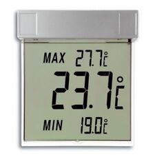 Digitales Fensterthermometer Min-Max Außenthermometer, abnehmbar, selbstklebend