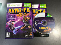 Kinect Kung Fu High Impact (Microsoft Xbox 360, 2011) Video Game Rare Complete
