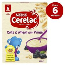 Nestle Cerelac Oats & Wheat With Prune Infant Cereals From 6 Months 200 gram