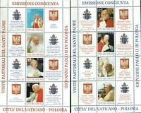 Vatican City Stamp - Pope John Paul II visits Poland Stamp - NH
