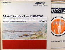"LONDON ffrr UK Arne JC Bach Boyce ""Music in London 1670-1770"" HURWITZ STS-15013"
