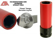 CTA Tools 4218 Flower Design Lug Nut Socket For Mercedes Benz New Free Shipping