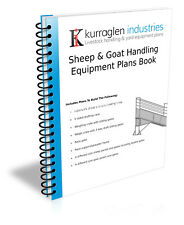 Plans, Goat & Sheep Handling Equipment, Loading Ramp, Draft Race, Panels & Gates