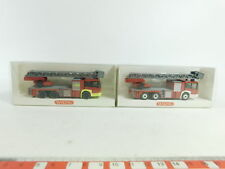 bd288-0,5 #2x WIKING H0/1:87 drehleiter-fw MB: 615 02 41 + 615 04 41, NUOVO +