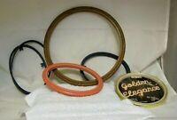 Vintage Craft Frames, Lot of 5, 2 Round, 3 Oval