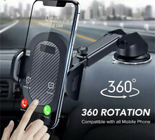 2020 Version Car Phone Mount Holder Adjustable Telescopic Arm with Cradle