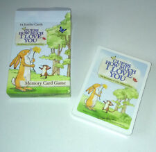 GUESS HOW MUCH I LOVE YOU Card Match MEMORY GAME Little Nutbrown Hare 27 PAIRS