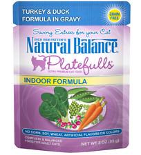Natural Balance Platefulls Indoor Turkey & Duck Formula for Cat 3 oz - 24pk