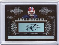 2006 Playoff National Treasures Autograph #184 Donte Whitner /200 Auto -Flat S/H