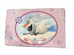 Frozen Pillow Case Cover Olof Elsa Anna