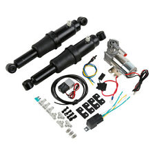 Rear Air Ride Suspension Kit For Harley Touring Road Glide Road King 94-20 16