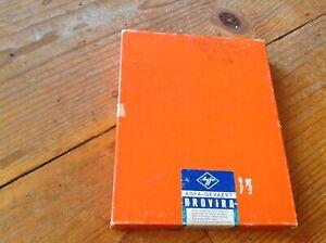 AGFA-GEVAERT BROVIRA 8 X 10 B & W 100 count sealed box EXPIRED AS IS