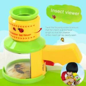 Bug Catcher Insect Viewer Box Magnifier Microscope Gift Toy NICE Boxes U9T