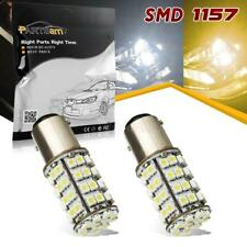 Amber White Dual Color Switchback 60 LED 1157 Front Turn Signal Light Bulb