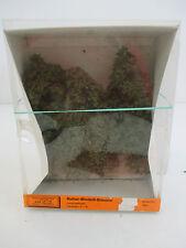 MZZ H0 1082 Natur-Modell-Bäume 3 x (Laub-beflockt) 17cm  WT2928