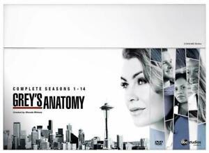 Grey's Anatomy Complete Season 1 - 14 DVD New But Not Sealed Slight Damage