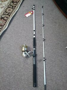Fishing rod and reel combo spinning Lot B4