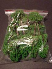 Warhammer Mini Wargaming Scenery Plastic Trees Terrain - Set Of 16